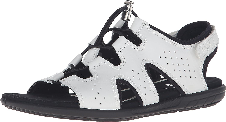 ECCO Womens bluema Toggle Gladiator Sandal Gladiator Sandal
