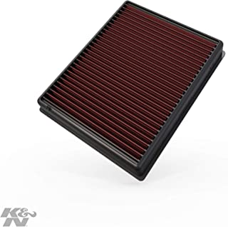 K&N engine air filter, washable and reusable:  2013-2019 Ford/Lincoln (Edge, Fusion, Galaxy, Mondeo, S-Max, Continental, MKZ) 33-5000