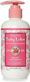SimpliGrown Bath Co. Natural Baby Lotion with Aloe, Chamomile, Jojoba, Sunflower Oil, Tea Tree Oil and Vitamins B5 and E, ...