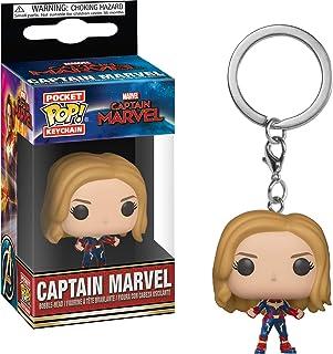 Funko 36438 POP Keychain Captain Marvel Collectible Figure, Multicolor