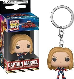 Funko Pop! Keychain Marvel: Captain Marvel - Unmasked, Multicolor