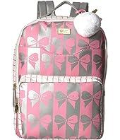Tyler PVC Backpack w/ Front Slip Laptop Pocket and Front Zip Pocket