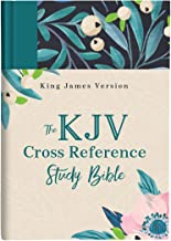 The KJV Cross Reference Study Bible―Turquoise Floral