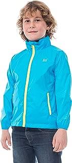 Mini Kids Neon Waterproof Packable Jacket