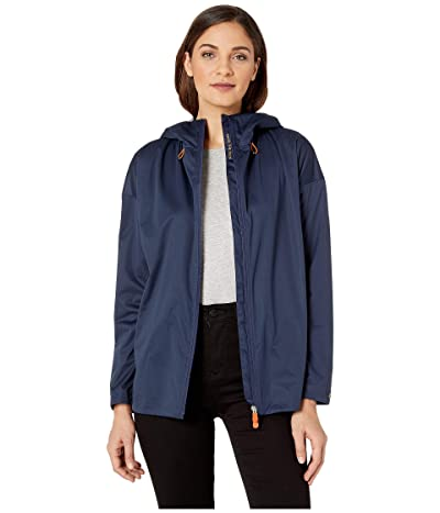 Save the Duck Bark Short Rain Jacket (Navy) Women