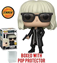 Funko Pop! Movies: Atomic Blonde - Lorraine Broughton Black Coat CHASE Variant Limited Edition Vinyl Figure (Bundled with Pop Box Protector Case)