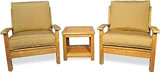 teak deep seating chairs