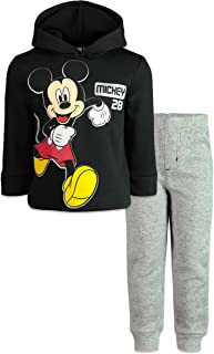 Disney Mickey Mouse Boys Fleece Hoodie & Pants Set