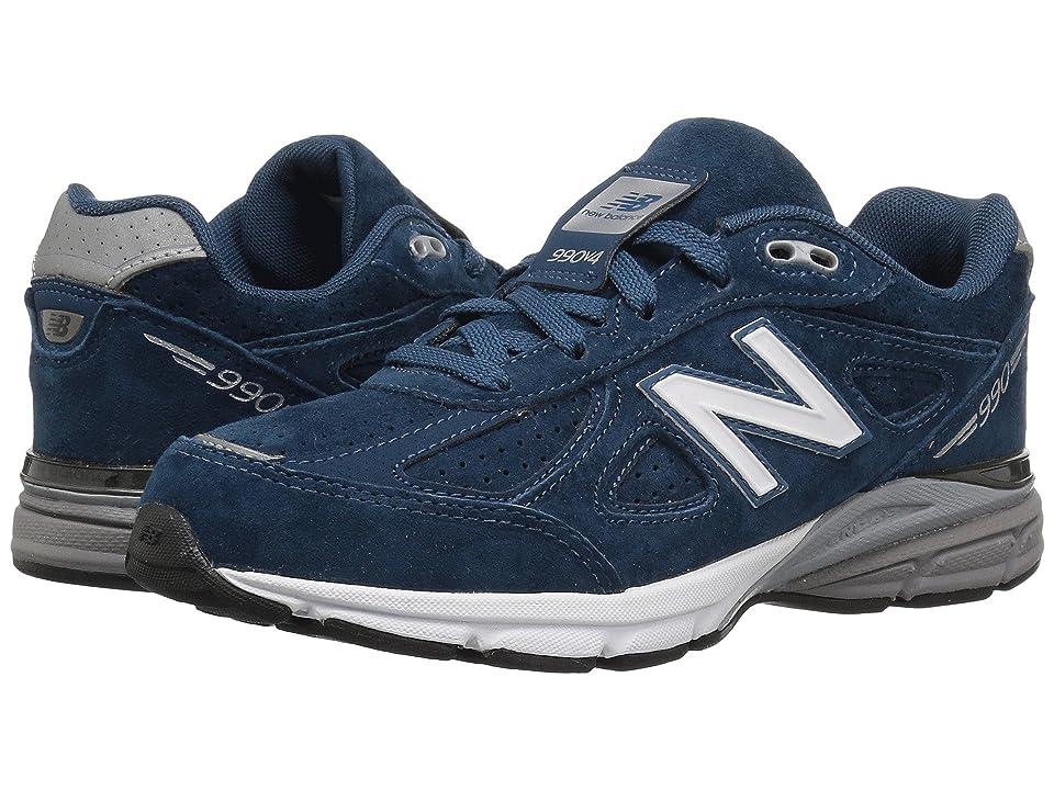 New Balance Kids KJ990v4G (Big Kid) (North Sea/Silver) Boys Shoes