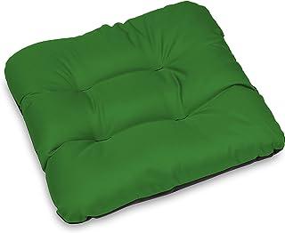 SuperKissen24. Set de 4 Cojines de Asiento - Cojín de Silla 45x45 cm para Interior y Exterior Cómodo e Impermeable para Muebles de Jardin, Terraza, para Suelo - Verde