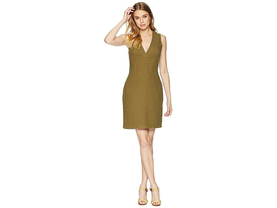 AG Adriano Goldschmied Melissa Dress (Olive Grove) Women
