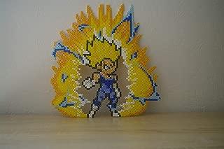 Sprite Majin Vegeta - Dragon ball - perler beads/pixel art