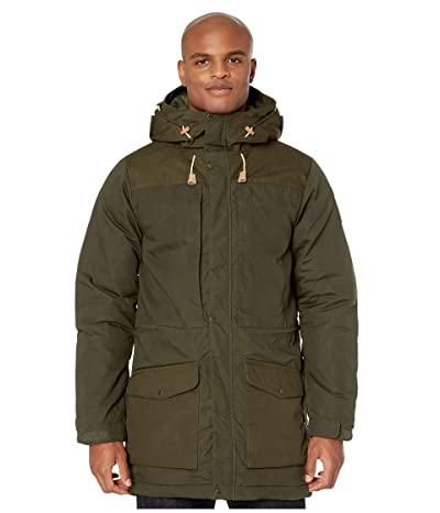 Fjallraven Singi Wool Padded Parka (Deep Forest) Men