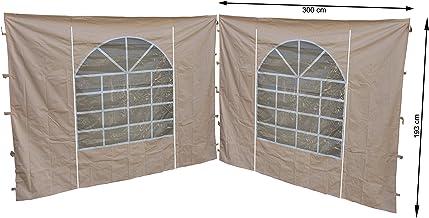 grigio RAL 7012 Tetto di ricambio per gazebo da giardino 250 g QUICK STAR 3 x 3 m