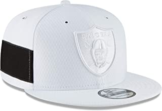 New Era Oakland Raiders White 2018 NFL Sideline Color Rush Official 9FIFTY Snapback Adjustable Hat