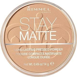 Rimmel London Stay Matte Pressed Powder, Warm Beige, 0.49 Ounce