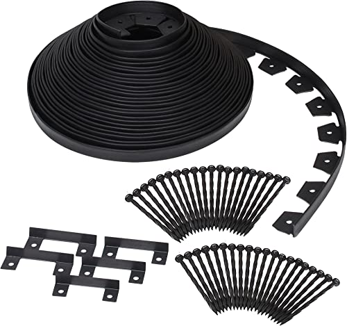 Dimex EdgePro Plastic Heavy Duty No-Dig Edging Kit, 100-Feet (3100-100C)