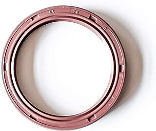 30mmx50mmx7mm Single Metal Case w//Viton Rubber Coating 1.181x1.969x0.276 Viton Oil Seal Grease Seal TC |EAI Double Lip w//Garter Spring 2 PCS Oil Seal 30X50X7