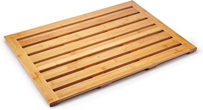 """Mosa Bamboo Natural Bath Shower Mat (Caution: Humidity Causes Mold/Keep it Dry After Use), 28"""" X 20"""""""