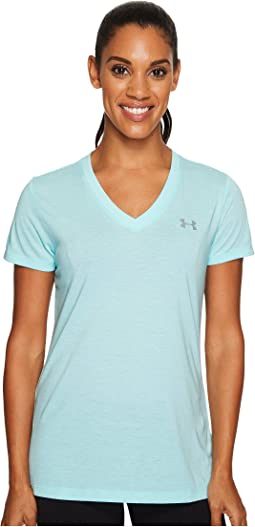Under Armour - Threadborne Train Short Sleeve V-Neck Twist
