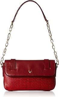 Hidesign Women's Shoulder Bag (Red Marsala)