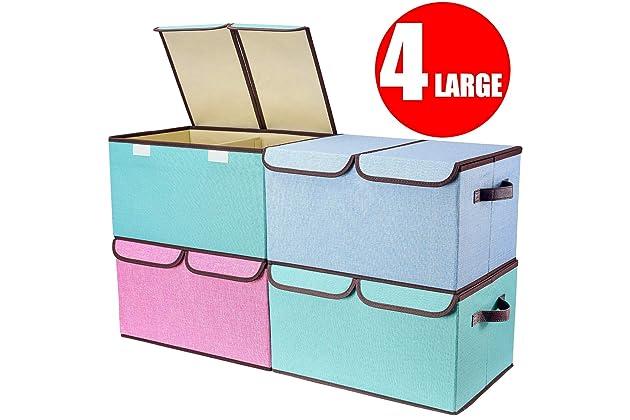 3fa36535e434 Best fabric bins for storage | Amazon.com