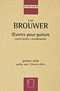 Œuvres Pour Guitare (French Edition)