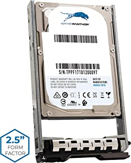 Water Panther 600-GB 10K-RPM SAS 6-Gbps 2.5-Inch Compatible with Dell PowerEdge Servers R530XD R610 R620 7YX58 ST9600204SS 7T0DW 400-AJQB Internal Hot-Swap Hard Disk Drive in a SFF 13G Dell Caddie