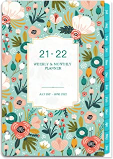 """2021 Planner Refill - 2021 Weekly & Monthly Planner Refill, 7-Hole Punched, A5 Planner Inserts, 5-1/2"""" x 8-1/2"""", Jan 2021-..."""