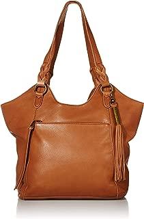 The Sak womens 108834 Shopper 17.3in L x 5.5in W x 13.6in H; Drop: 9.8 inches