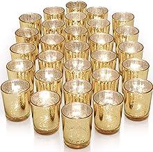 Serenable 10pcs Candlestick Holders Candle Holders Bulk Wedding /& Festival Decor Candle Holder for Windowsill