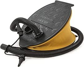 2 x 1,5 Liter Pumpleistung 2 Ventilaufsätze AGT Doppelhub-Hand-Luftpumpe