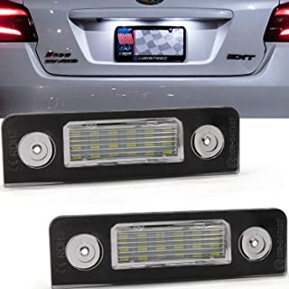 LED Number License Plate Light Lamp,Ourbest Car License Plate Lights With CE Mark CANBUS No Error Fit for Skoda Octavia II Facelift 2009-2012