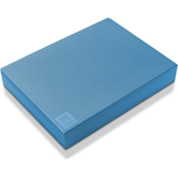 Node Fitness Premium Exercise Balance Pad - 16 x 12 x 2.5 Inch Large Foam Mat for Yoga, Fitness Training, Physical Therapy