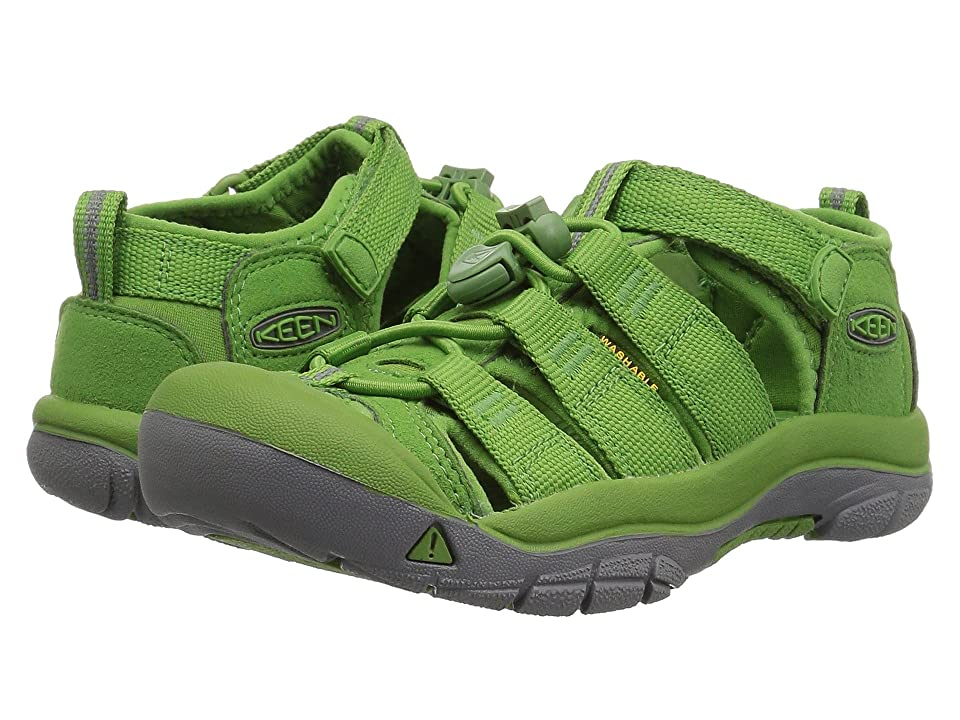 Keen Kids Newport H2 (Toddler/Little Kid) (Fluorite Green) Kids Shoes