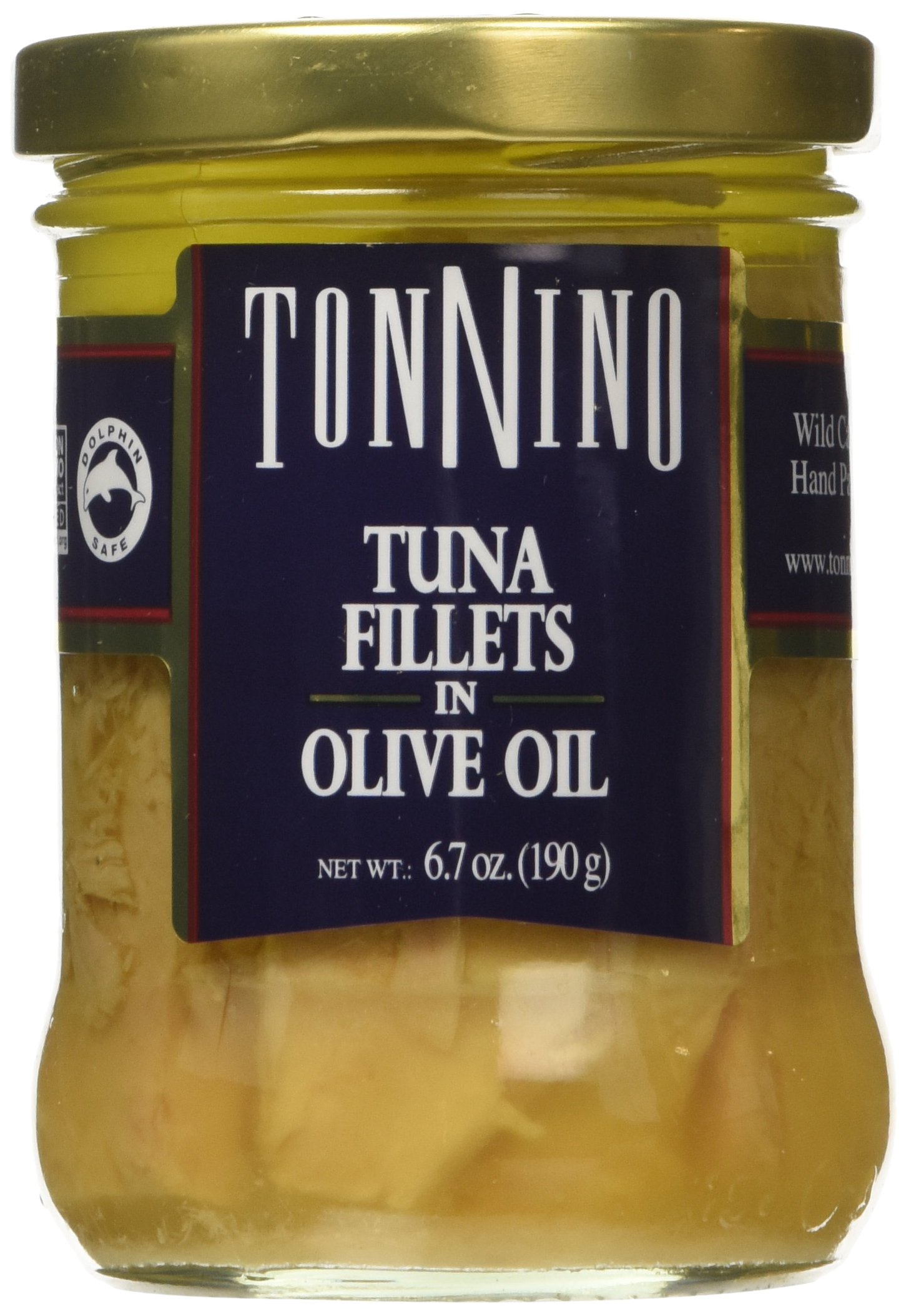 Tonnino Tuna Fillets in Olive Oil (Pack of 6)