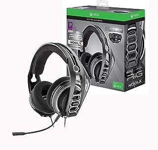 Plantronics - Auriculares para juegos RIG 400LX para Xbox One con código de activación Dolby Atmos prepago y adaptador LX1 incluido