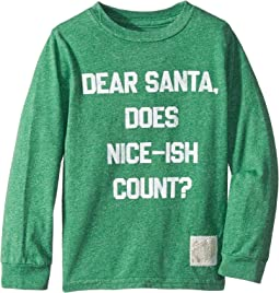 Does Nice Ish Count Long Sleeve Mocktwist Tee (Toddler)