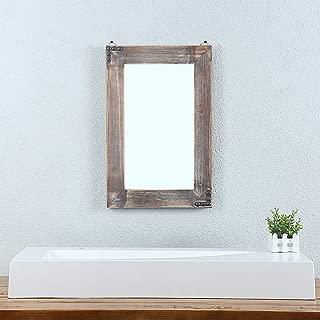 Best rustic wall mirror Reviews