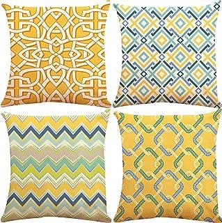 ZUEXT Geometric Throw Pillow Covers 18