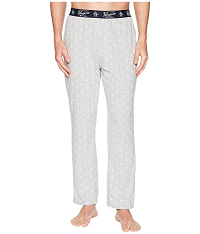 Original Penguin Pete Lounge Pants (Light Grey Heather) Men
