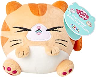 """Kitten Catfé Meowble Super Soft Scented Plush - Orange Tabby Cat - """"Meowberry Scented"""" (Strawberry) 4"""" Round Kitten Ball P..."""