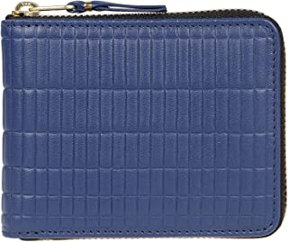 Luxury Fashion   Comme Des Garçons Mens SA7100BKBLUE Blue Wallet   Fall Winter 19
