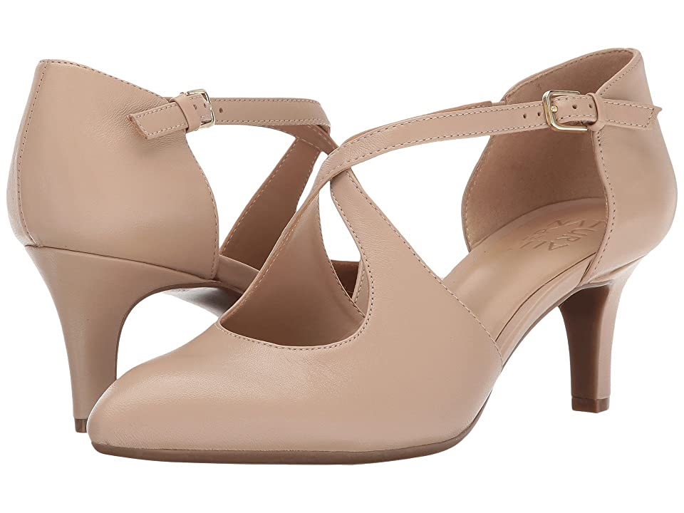 1930s Style Shoes – Art Deco Shoes Naturalizer Okira Tender Taupe Leather Womens 1-2 inch heel Shoes $98.95 AT vintagedancer.com