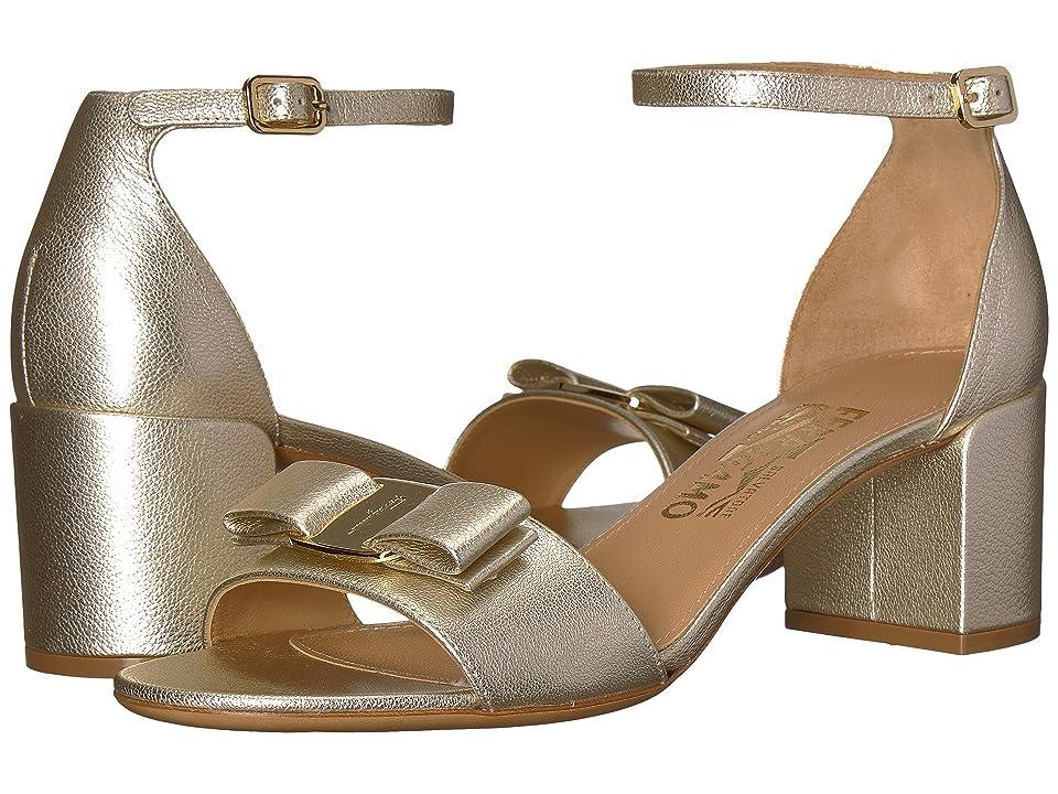 Salvatore Ferragamo Gavina (Sahara Flair Silk) High Heels