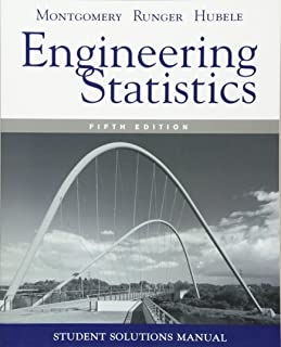 Student Solutions Manual Engineering Statistics, 5e