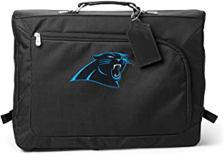 Denco NFL Carolina Panthers Carry-On Garment Bag, 18-inches, Black, 18-inches