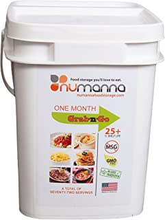 NuManna INT-NMGNG 76 Meals, 25 Plus Year Shelf Life