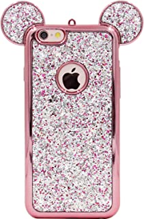 iphone 6s glitter sticker case