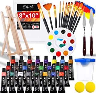 Acrylic Paint Set,46 Piece Professional Painting Supplies wi